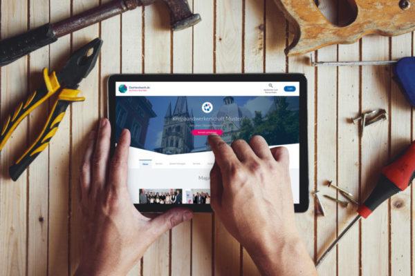 Zum Tag des Handwerks am 16. September 2017 startet die Pilotphase des Online-Portals www.DasHandwerk.de.