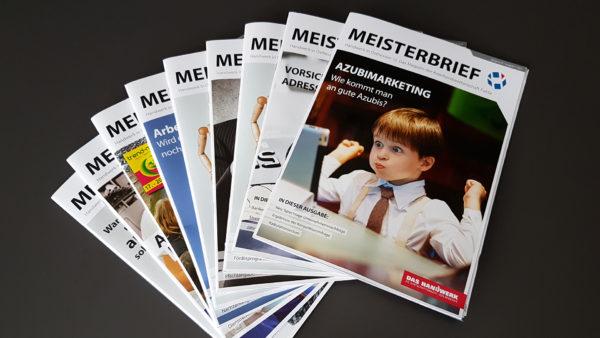 Die Mitgliederzeitschrift ist ein wichtiges Informations- und Servicemedium vieler Kreishandwerkerschaften.